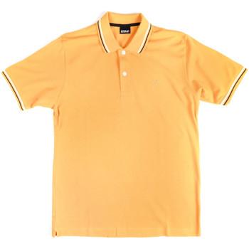 Odjeća Muškarci  Polo majice kratkih rukava Key Up 2Q70G 0001 Žuta boja