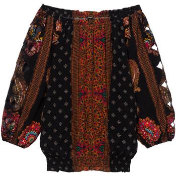 Odjeća Žene  Topovi i bluze Desigual 19WWBW23 Crno