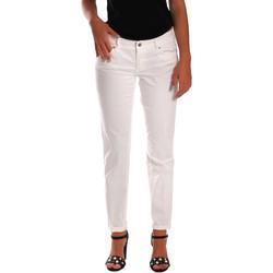 Odjeća Žene  Slim traperice Gas 355661 Bijela