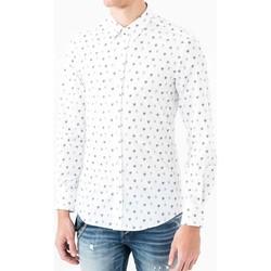 Odjeća Muškarci  Košulje dugih rukava Antony Morato MMSL00425 FA430306 Bijela