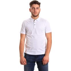 Odjeća Muškarci  Polo majice kratkih rukava Ea7 Emporio Armani 8NPF21 PJ48Z Bijela