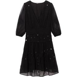 Odjeća Žene  Kratke haljine Desigual 19WWVW32 Crno