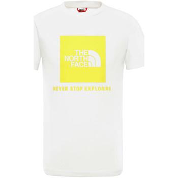 Odjeća Djeca Majice kratkih rukava The North Face NF0A3BS2P801 Bijela