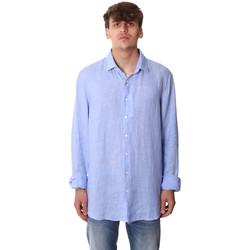 Odjeća Muškarci  Košulje dugih rukava Calvin Klein Jeans K10K106018 Plava