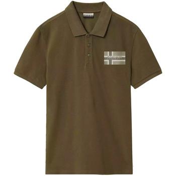 Odjeća Muškarci  Polo majice kratkih rukava Napapijri NP0A4E2K Zelena