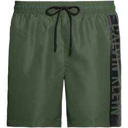 Odjeća Muškarci  Kupaći kostimi / Kupaće gaće Calvin Klein Jeans KM0KM00437 Zelena