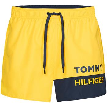 Odjeća Muškarci  Kupaći kostimi / Kupaće gaće Tommy Hilfiger UM0UM01683 Žuta boja