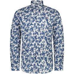 Odjeća Muškarci  Košulje dugih rukava Napapijri NP0A4E2W Plava