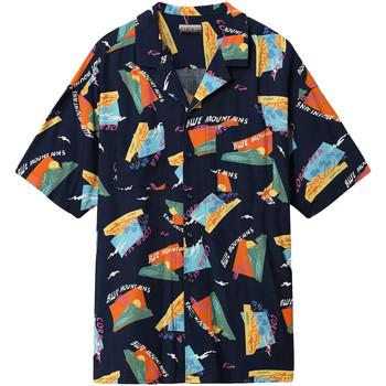 Odjeća Muškarci  Košulje kratkih rukava Napapijri NP0A4E81 Plava