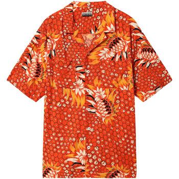 Odjeća Muškarci  Košulje kratkih rukava Napapijri NP0A4E81 Crvena