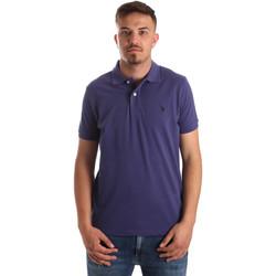Odjeća Muškarci  Polo majice kratkih rukava U.S Polo Assn. 41029 51244 Plava