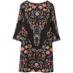 Odjeća Žene  Kratke haljine Desigual 18WWVW17 Crno