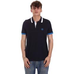 Odjeća Muškarci  Polo majice kratkih rukava Gaudi 011BU64043 Plava