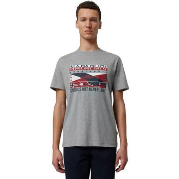 Odjeća Muškarci  Majice kratkih rukava Napapijri NP0A4E36 Siva