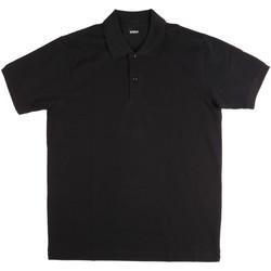 Odjeća Muškarci  Polo majice kratkih rukava Key Up 2800Q 0001 Crno