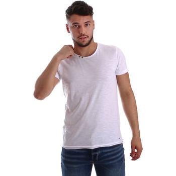 Odjeća Muškarci  Majice kratkih rukava Key Up 233SG 0001 Bijela