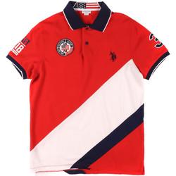 Odjeća Muškarci  Polo majice kratkih rukava U.S Polo Assn. 43771 41029 Crvena