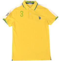 Odjeća Muškarci  Polo majice kratkih rukava U.S Polo Assn. 43770 41029 Žuta boja