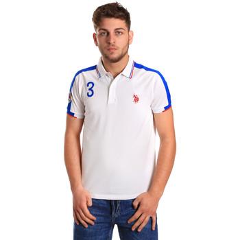 Odjeća Muškarci  Polo majice kratkih rukava U.S Polo Assn. 43770 41029 Bijela