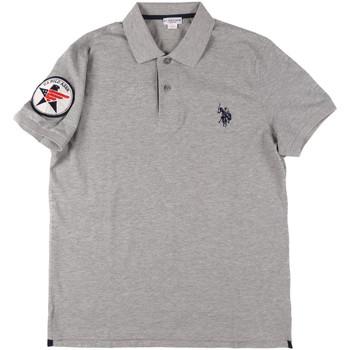 Odjeća Muškarci  Polo majice kratkih rukava U.S Polo Assn. 43767 41029 Siva