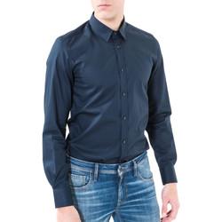 Odjeća Muškarci  Košulje dugih rukava Antony Morato MMSL00362 FA400042 Plava