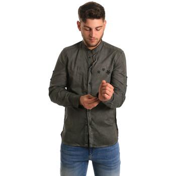 Odjeća Muškarci  Košulje dugih rukava Antony Morato MMSL00452 FA400014 Zelena