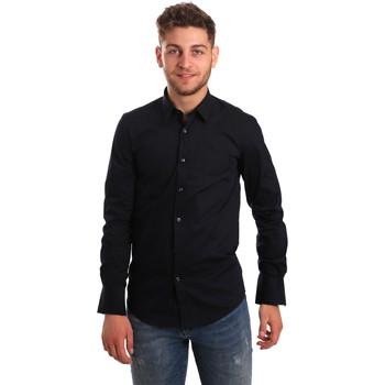 Odjeća Muškarci  Košulje dugih rukava Antony Morato MMSL00472 FA450001 Plava