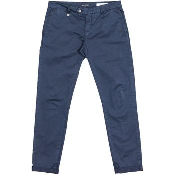 Odjeća Muškarci  Chino hlačei hlače mrkva kroja Antony Morato MMTR00387 FA800060 Plava