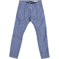 Odjeća Muškarci  Chino hlačei hlače mrkva kroja Antony Morato MMTR00378 FA850155 Plava