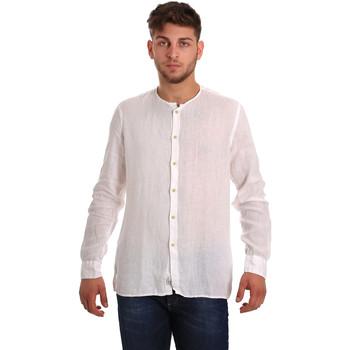 Odjeća Muškarci  Košulje dugih rukava Gaudi 811BU45022 Bijela