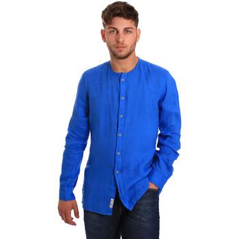 Odjeća Muškarci  Košulje dugih rukava Gaudi 811BU45022 Plava