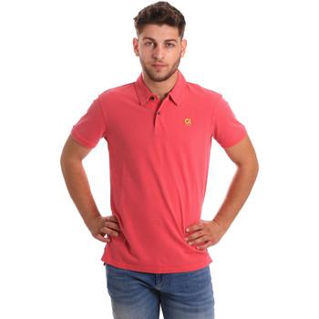 Odjeća Muškarci  Polo majice kratkih rukava Gaudi 811BU64074 Ružičasta