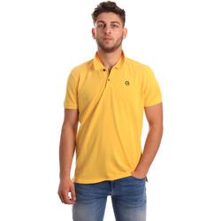 Odjeća Muškarci  Polo majice kratkih rukava Gaudi 811BU64074 Žuta boja