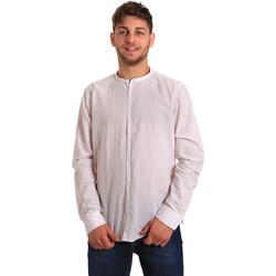 Odjeća Muškarci  Košulje dugih rukava Gaudi 811FU45020 Bijela