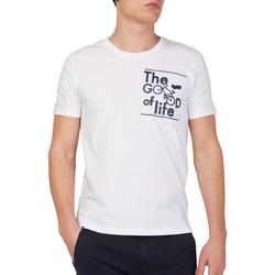 Odjeća Muškarci  Majice kratkih rukava Gas 542990 Bijela