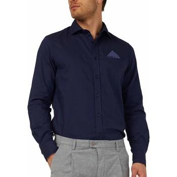 Odjeća Muškarci  Košulje dugih rukava Gas 151131 Plava