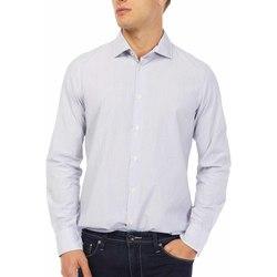 Odjeća Muškarci  Košulje dugih rukava Gas 151144 Plava