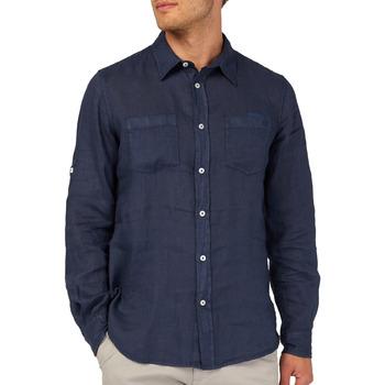 Odjeća Muškarci  Košulje dugih rukava Gas 151150 Plava