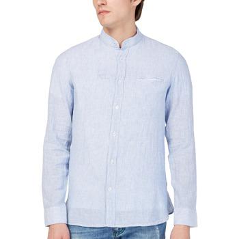Odjeća Muškarci  Košulje dugih rukava Gas 151228 Plava