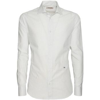 Odjeća Muškarci  Košulje dugih rukava NeroGiardini P873051U Bijela