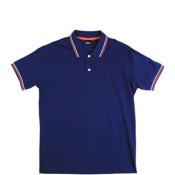 Odjeća Muškarci  Polo majice kratkih rukava Key Up 2Q70G 0001 Plava