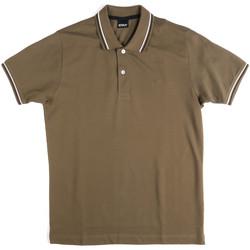 Odjeća Muškarci  Polo majice kratkih rukava Key Up 2Q70G 0001 Zelena