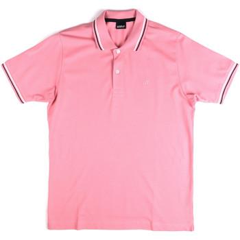 Odjeća Muškarci  Polo majice kratkih rukava Key Up 2Q70G 0001 Ružičasta