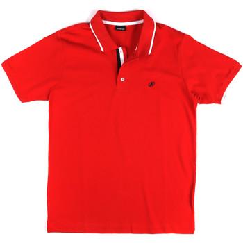 Odjeća Muškarci  Polo majice kratkih rukava Key Up 2Q711 0001 Crvena