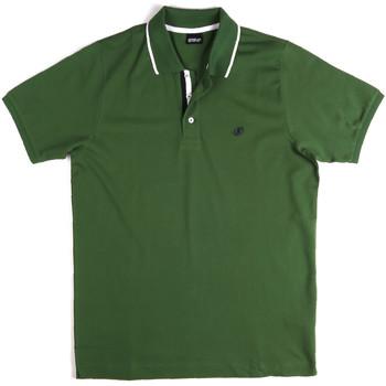 Odjeća Muškarci  Polo majice kratkih rukava Key Up 2Q711 0001 Zelena