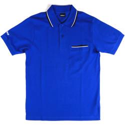 Odjeća Muškarci  Polo majice kratkih rukava Key Up 2Q827 0001 Plava