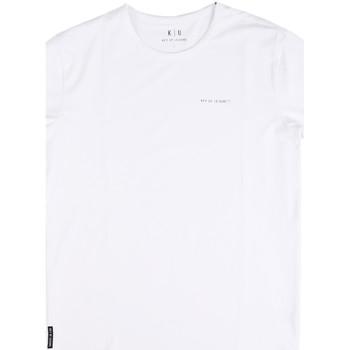 Odjeća Muškarci  Majice kratkih rukava Key Up 2G69S 0001 Bijela