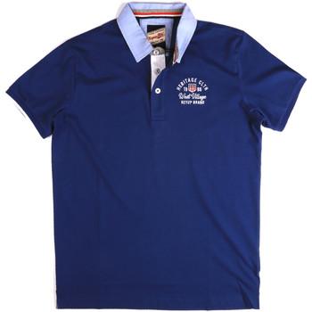 Odjeća Muškarci  Polo majice kratkih rukava Key Up 2G85R 0001 Plava