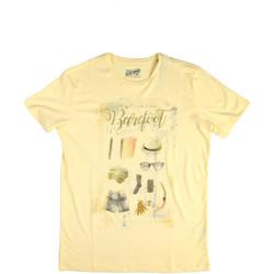 Odjeća Muškarci  Majice kratkih rukava Key Up 2G84S 0001 Žuta boja