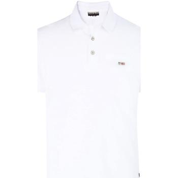 Odjeća Muškarci  Polo majice kratkih rukava Napapijri N0YHDX Bijela